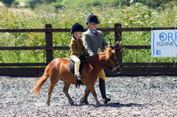 21. M & M LEAD REIN (ponies not exc. 128cms) Rider 11 years & under
